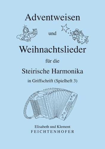 Alpenländische Weihnachtslieder Noten.Weihnachtslieder Harmonika Kärntnerland